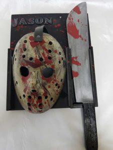 maschera in resina di jason