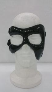 Maschera protettiva zigomo sinistro e arcata sopraccigliare