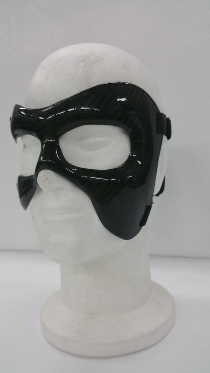 Maschera protettiva zigomo sinistro