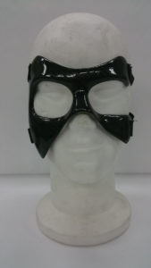 Maschera protettiva zigomo destro