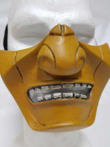Oni scorpion maschera giapponese