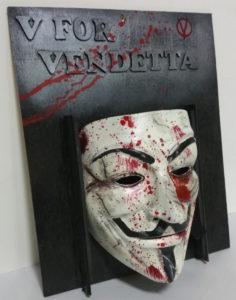Mask resina v for vendetta