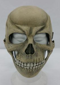 Skull bone death's head helmet resin wearable